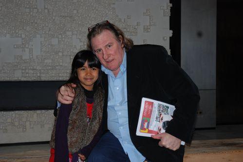 Gérard Depardieu et Anais
