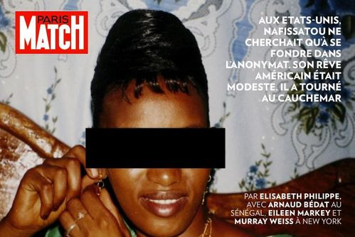photo victime dsk paris match nafissatu