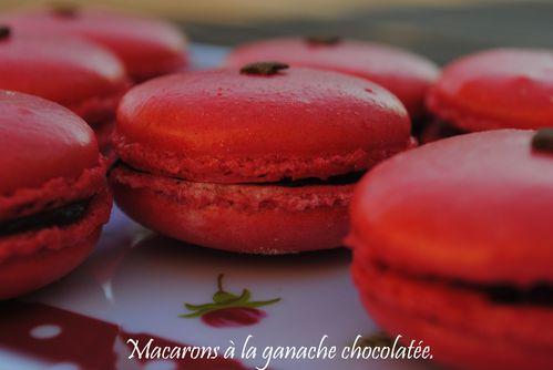 macarons rouges 1