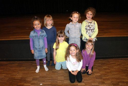 Les plus jeunes danseuses