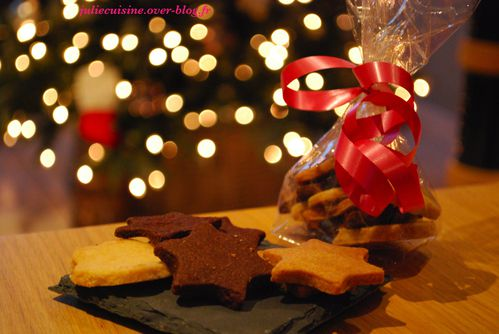 Biscuits de noel vegetalien