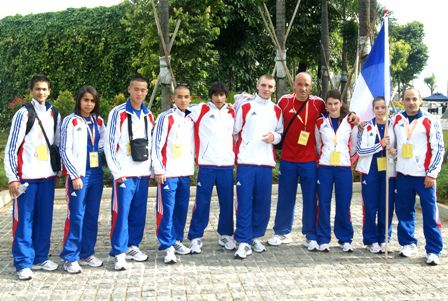 TROISIEME CHAMPIONNAT MONDE JUNIOR 2010 FRANCE