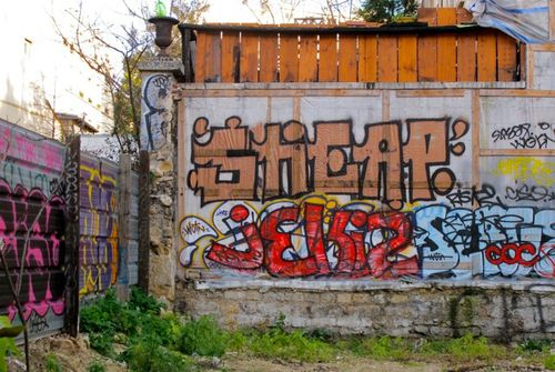 démolition théâtre Ermitage street-art 2