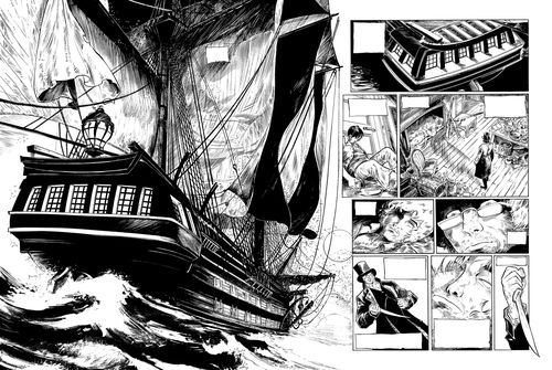 BD SURCOUF TOME 2 - PAGE 1