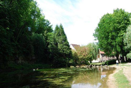 Chatillon-sur-Seine - La source de la Douix 2