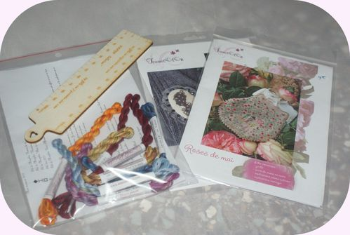 achats broderies Puget Tournicoton ,Annick Abrial