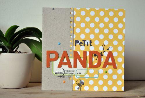 Carte Petit Panda