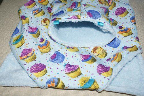 dodos rats cupcakes bleus