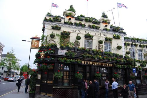 Pub The Churchill arms