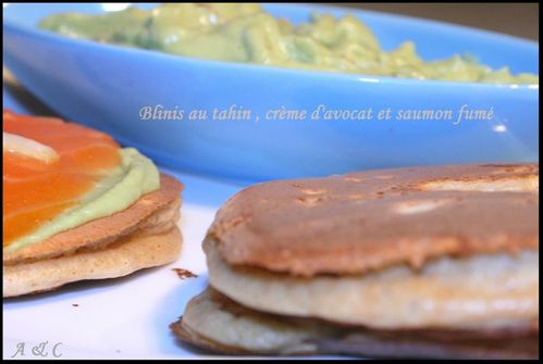Blinis au tahin 2
