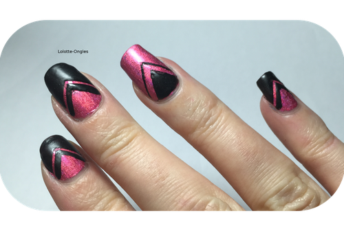nail art triangle 2