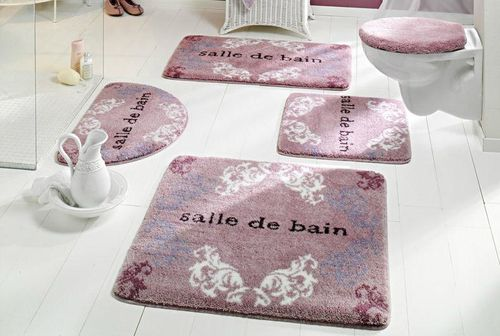 tapis de salle de bains tapis de salle de bain 50x80cm. Black Bedroom Furniture Sets. Home Design Ideas