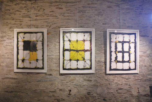 Edward Baran, Salle du Bas, Trilogie jaune et noire, Bouchemaine 2012