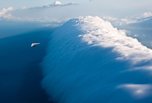 NUAGE EN VAGUE