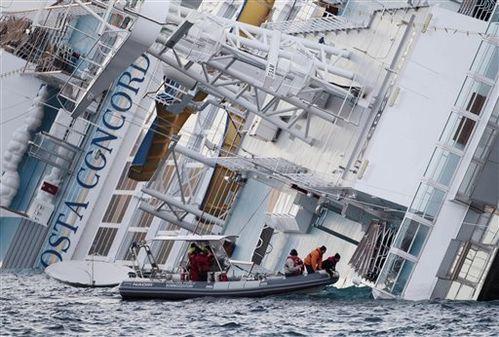 épave Costa Concordia Italie