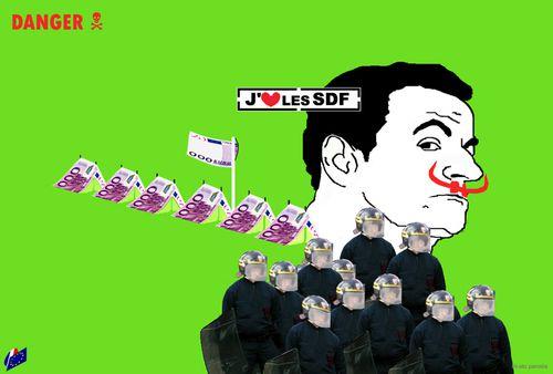 j'aime les artistes pauvres et les SDF