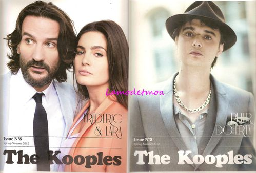 couverture magazine the kooples