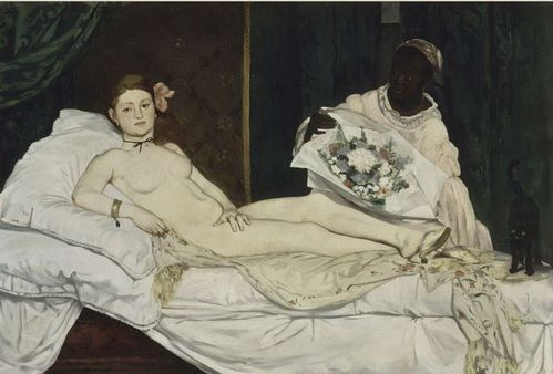Manet Olympia Orsay