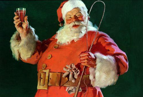 Coca-Cola-Art Christmas Santa12