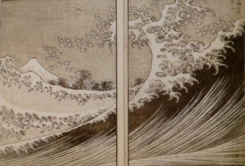 Hokusai, Shocku