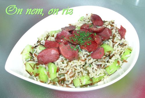 Salade de riz sauvage au canard1