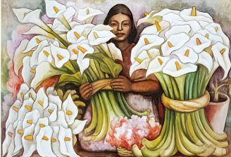 Diego Rivera...Vendedora De Alcatraces