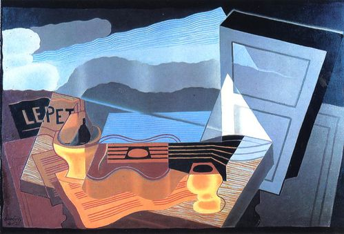4 - Juan Gris View across the Bay 1921
