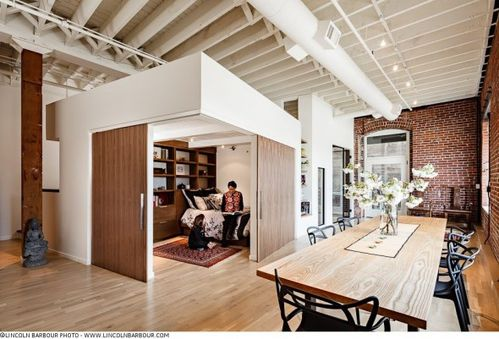 Double loft a part a Chambre loft new yorkais