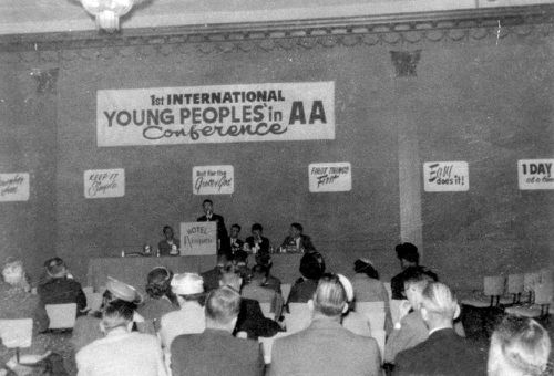 young people in aa 192a 1958