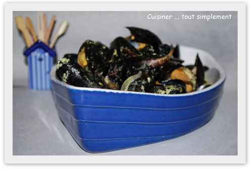 moules au curry cuisiner tout simplement le blog de. Black Bedroom Furniture Sets. Home Design Ideas