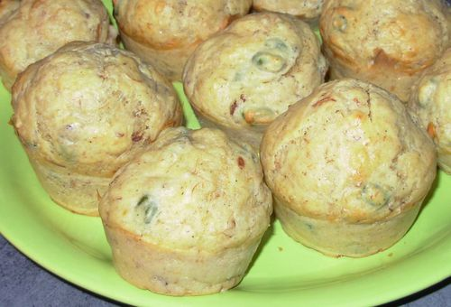 Muffins rillettes & pistaches2