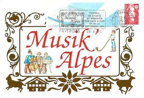 1993 Musik Alpes