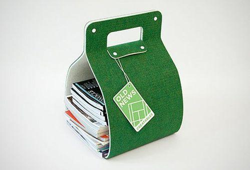 porte journaux design et recycl le blog de viktor from. Black Bedroom Furniture Sets. Home Design Ideas