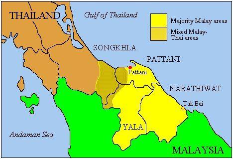 Souththailandmap