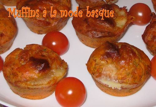 Muffins à la mode basque3