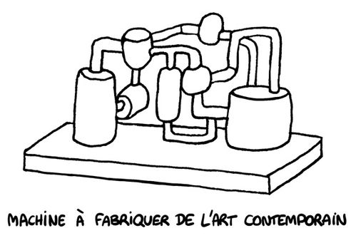 machine art contemporain