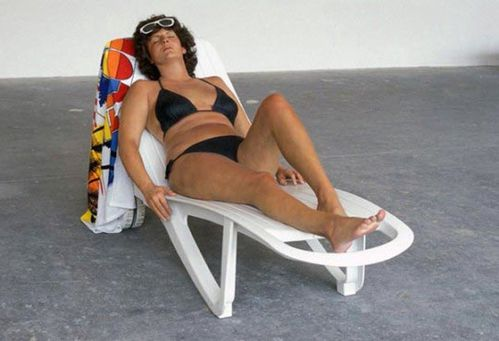 duane-hanson-sunbather-1987