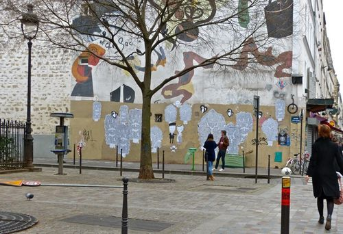 street-art Le Chevallier fresque 6