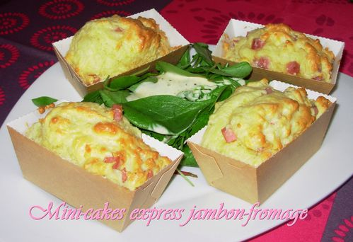 Mini-cakes express jambon-fromage2