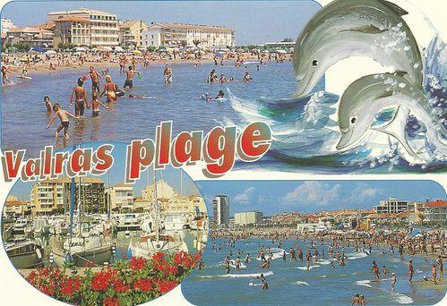 Carte postale re ue de philyvanne le blog de gypsy - Office du tourisme valras plage herault ...
