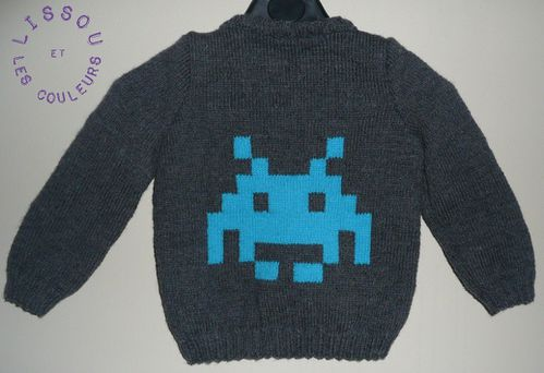 pull space invaders envers