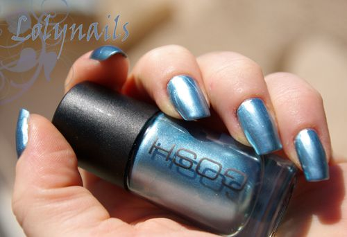 Gosh 566 metallic blue