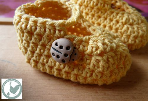 chaussons coccinnelles