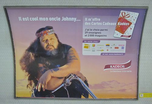 affiche Noël Kadeos humour Oncle Johnny