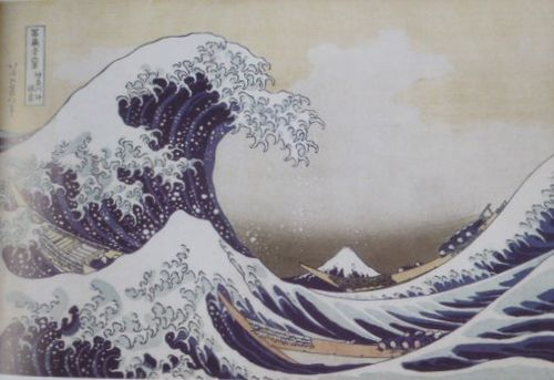 Hokusai, La Grande Vague, 1830