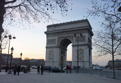 arc de triomphe paris fev2012