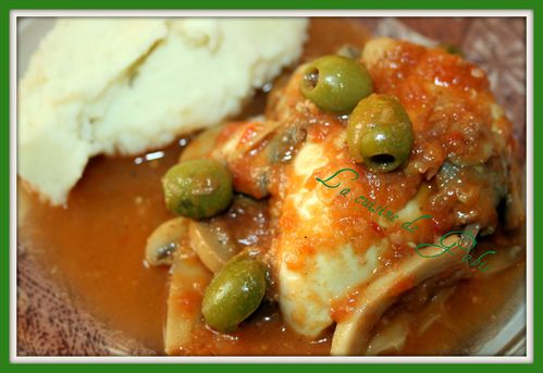 Poulet tomates champignons et olives thermomix - Livre thermomix ma cuisine 100 facons ...