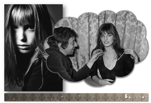 fashion ballyhoo - jane Birkin & serge gainsbourg lookbook