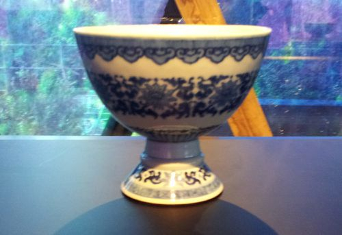 chine coupe porcelaine