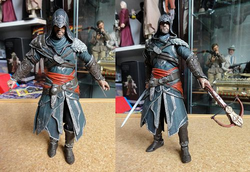 ASSASSIN CREED EZIO REVELATIONS 2 NECA